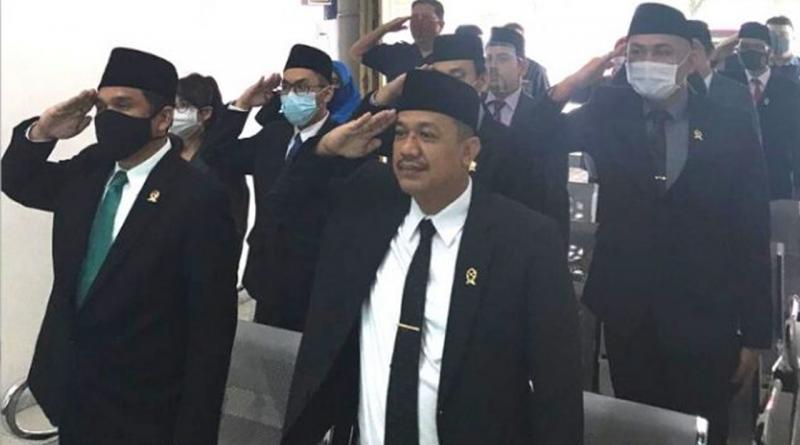 Pengadilan Negeri Sei Rampah Menyaksikan Peringatan HUT Ke 75 Mahkamah Agung Republik Indonesia Secara Virtual