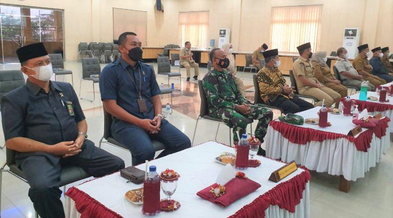 Pengadilan Negeri Sei Rampah Ikuti Doa Bersama Lintas Agama Dalam Rangka Menghadapi Pandemi Covid-19