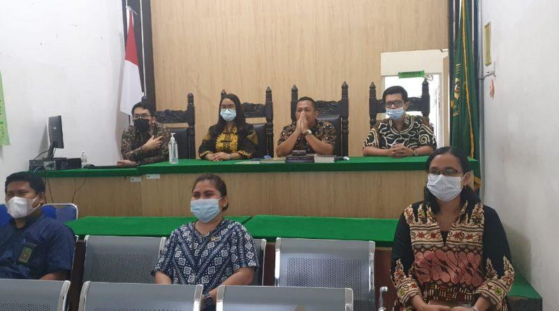 Pengadilan Negeri Sei Rampah Ikuti Pembinaan Bidang Teknis dan Administrasi Yudisial Secara Daring