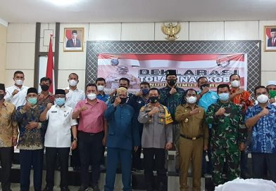 Ketua Pengadilan Negeri Sei Rampah Ikuti Acara Deklarasi Tolak Narkoba Menuju Sumut Bersinar