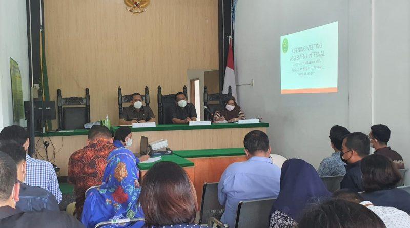 Opening Meeting Assesment Internal Akreditasi Penjaminan Mutu Pengadilan Negeri Sei Rampah