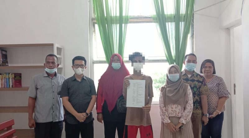 Fasilitator  Diversi Pengadilan Negeri Sei Rampah Berhasil Lakukan Diversi dalam Dua Perkara Anak