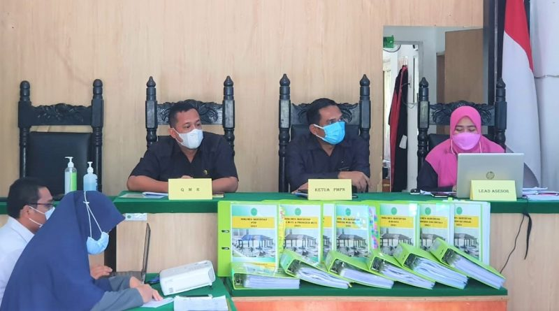 Pengadilan Negeri Sei Rampah Lakukan Rapat Tinjauan Manajemen Akreditasi Penjaminan Mutu