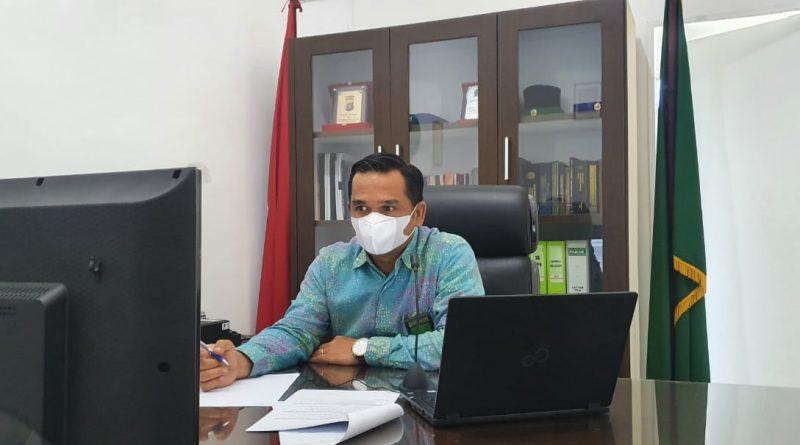 Ketua Pengadilan Sei Rampah Mejadi Penguji Dalam Seminar Evaluasi Aktualisasi Pelatihan Dasar Calon Pegawai Negeri Sipil Golongan III Gelombang I Mahkamah Agung RI Secara Online.