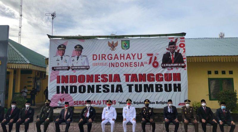 Pengadilan Negeri Sei Rampah Ikuti Peringatan Hari Ulang Tahun Ke-76 Kemerdekaan Republik Indonesia
