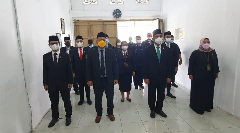 Pengadilan Negeri Sei Rampah Ikuti Upacara Peringatan HUT Ke-76 Mahkamah Agung Republik Indonesia