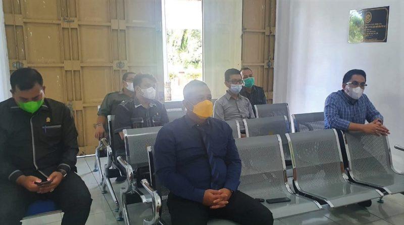 Pengadilan Negeri Sei Rampah Ikuti Kegiatan Pengajian Rutin Secara Virtual