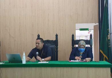 Pengadilan Negeri Sei Rampah Lakukan Sosialisasi Upaya Hukum Banding Secara Elektronik (e-Court)